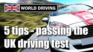 Secret to passing your UK driving test? Tips for passing the driving test
