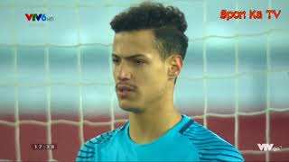 Loạt đá penalty U23 Qatar 3-4 U23 Việt Nam