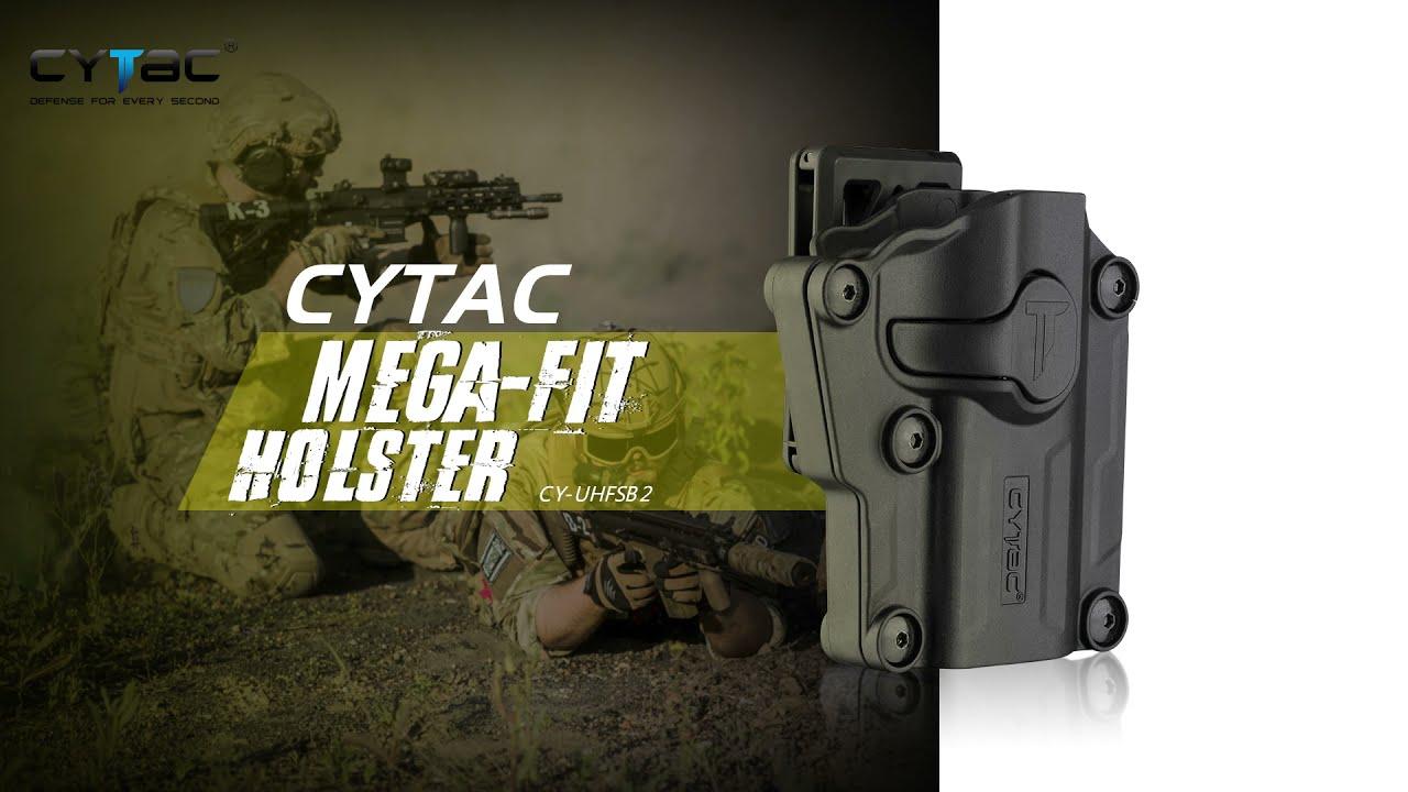 Cytac Universal Mega-Fit Holster With Blet Clip