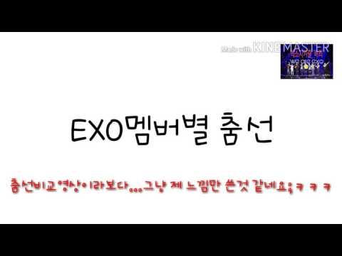 [EXO]엑소 멤버별 춤 비교