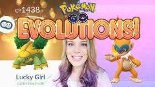 NEW GEN 4 EVOLUTIONS IN POKEMON GO! Evolving Sinnoh Starters and More!