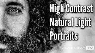 High Contrast Natural Light Portraits: Exploring Photography with Mark Wallace