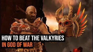 How To Beat All 9 Valkyries in God of War