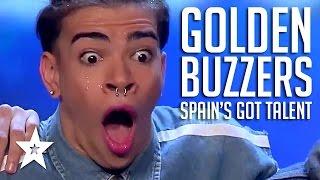 GOLDEN BUZZER Moments On Spain's Got Talent 2017 PART 1   Got Talent Global