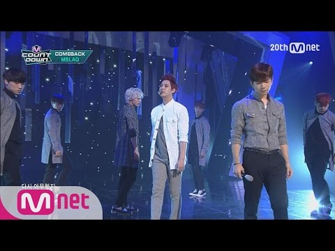 MBLAQ - 'MIRROR' M COUNTDOWN 150611 COMEBACK Stage Ep.428