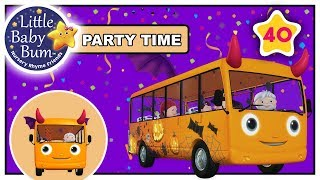 Wheels On The Bus - Halloween Special + More!   Little Baby Boogie   LBB   Nursery Rhymes