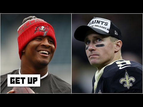 Could Jameis Winston become Drew Brees' backup on the Saints? | Get Up