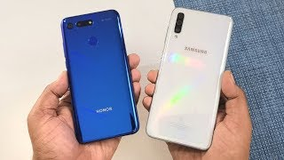 Samsung Galaxy A70 vs Honor View 20 SpeedTest !!!!
