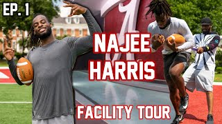 Najee Harris trains for the HEISMAN and walks through Alabama's NEW FACILITY - The Campaign Ep.1