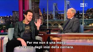 Jim Carrey al David Letterman 13-03-2013 (sub ita)