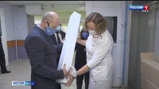 Омские профсоюзы продолжают помогать мед учреждениям