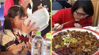 6 Cô Gái Có Khả Năng Ăn Phi Thường