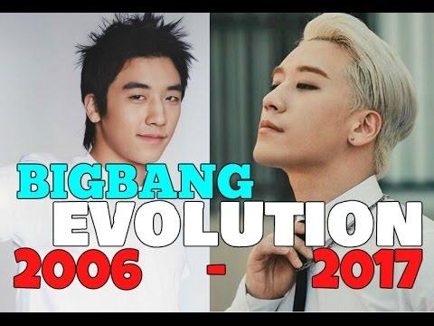 BIGBANG Evolution 2006-2017 / BIGBANG Debut vs Now (SACROSKPOP)
