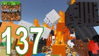Minecraft: PE - Gameplay Walkthrough Part 137 - 3 Headed Ghast (iOS, Android)