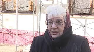 Жители одного из домов Центрального округа Омска недовольны качеством проводимого капитального ремонта на их многоэтажке