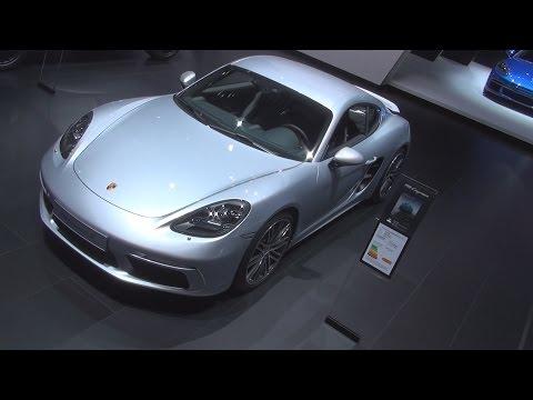 @Porsche 718 Cayman S (2017) Exterior and Interior in 3D