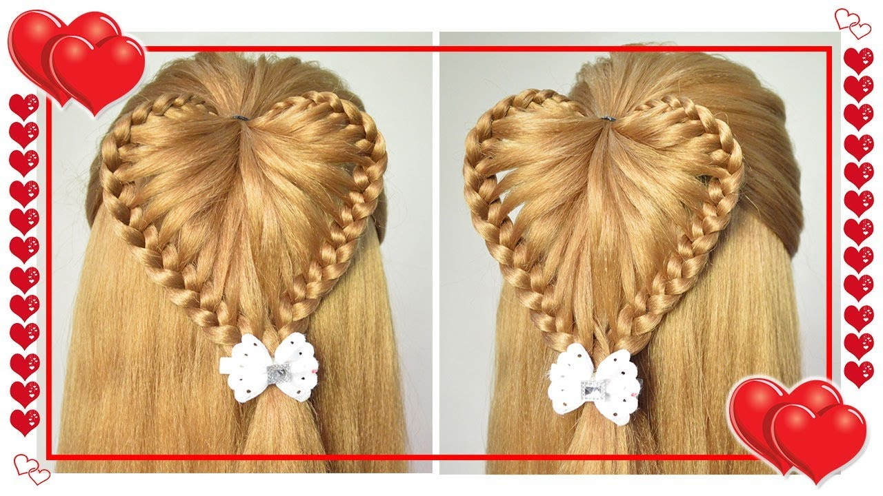 Peinados de nina para fiesta con trenzas