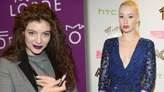 Iggy Azalea Disses Lorde in Billboard Magazine?!?