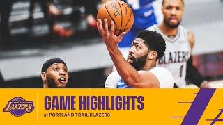 HIGHLIGHTS | Anthony Davis (36 pts, 12 reb, 5 ast) at Portland Trail Blazers