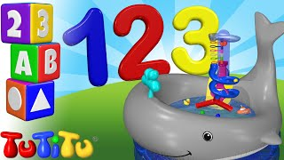 Aprender a contar del 1 al 10 | 123 Jugetes para la hora del baño | TuTiTu Preescolar