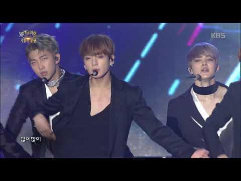 열린음악회 - 피 땀 눈물 - 방탄소년단.20161113