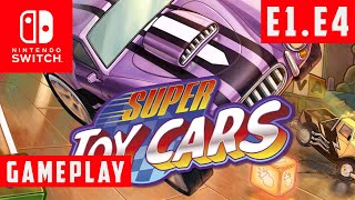 Episode 1 - Event 4: Time Attack Garage 1 - Super Toy Cars - Gameplay - (Nintendo Switch)