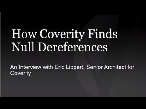 How Coverity Finds Null Dereferences