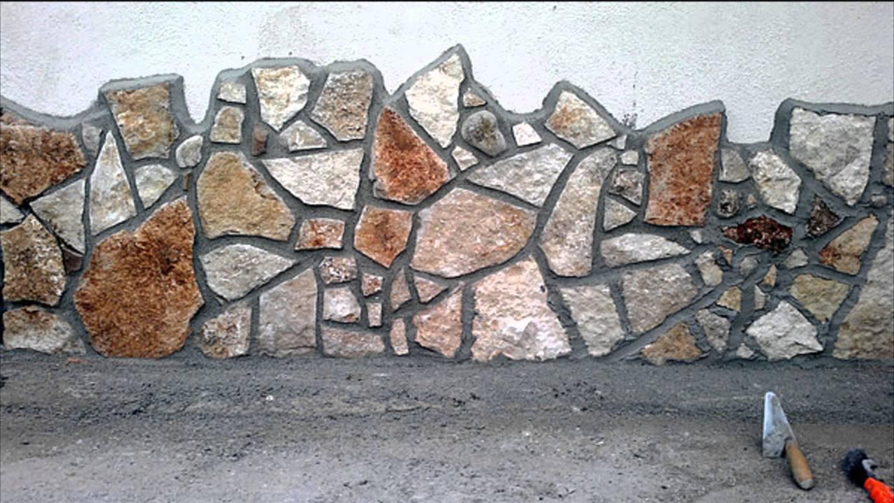 Rivestimento di un muro con la scorza di trani uno dei for Abbellire una parete