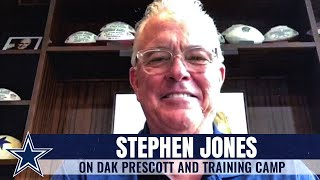 Stephen Jones on Dak, Camp & More | Dallas Cowboys 2020