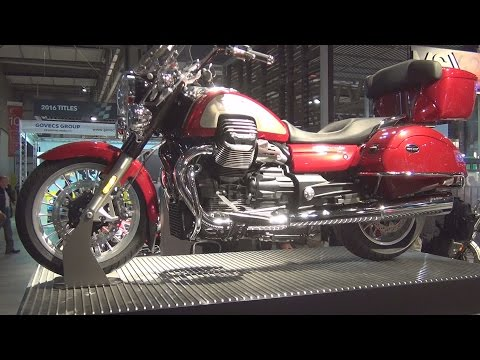 @MotoGuzziClub Moto Guzzi California Touring (2017) Exterior and Interior in 3D