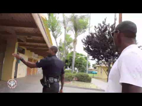 Phil Davis rides along with police