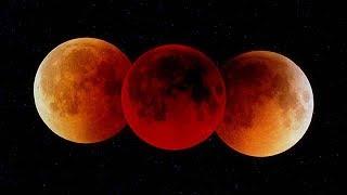 Luna de sangre: las mejores fotos del eclipse lunar
