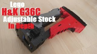 Lego G36C In Depth: Adjustable Stock