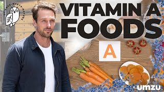 4 Testosterone Booster Foods High in Vitamin A with Christopher Walker