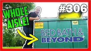 Bed Bath And Beyond Dumpster Dive! THEY THREW AWAY THEIR WHOLE AISLE! Night 306