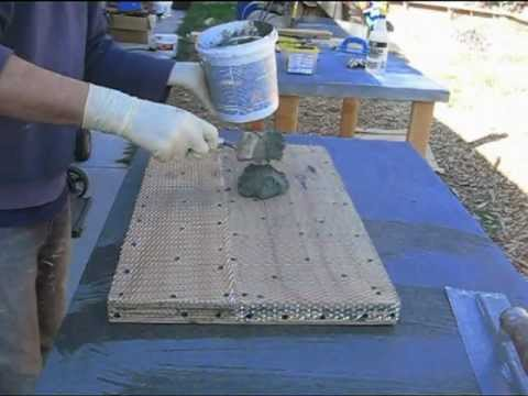 Diy Concrete Counter Top Using Overlay Approach Youtube