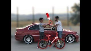 Bmw ile Bisiklet takas Etti!! (Gülmek Garanti)