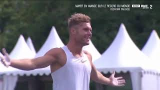 Kevin Mayer Decathlon World Record 9126 Points
