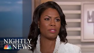 President Donald Trump Lashes Out At Omarosa Manigault On Twitter | NBC Nightly News