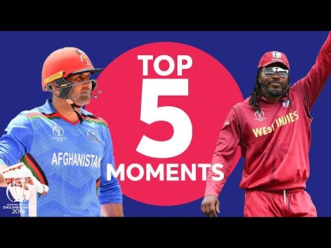 Gayle? Nabi?  | Afghanistan vs West Indies - Top 5 Moments | ICC Cricket World Cup 2019