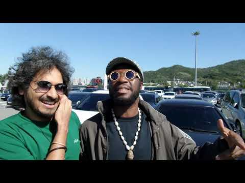 Integrated Music Company Limited - Moses Beyeeman in Korea @ On the way to Jeonju