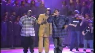 "Coolio ft. L.V. & Stevie Wonder! ""Gangsta's Paradise"" Live! [Billboard Awards 1995]"