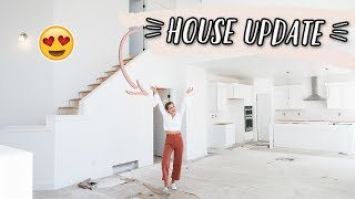 NEW HOUSE WALK THROUGH TOUR UPDATE!