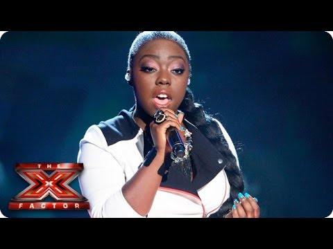 Hannah Barrett sings Beautiful - Live Week 2 - The X Factor 2013