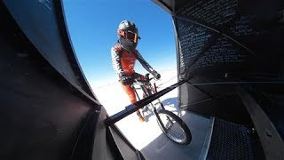 This Bicyclist Just Pedaled 184 MPH. Really.