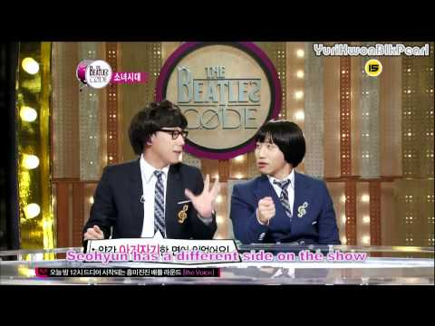 [ENG] Taeyeon jealous of Seohyun's ex-husband @ The Beatles Code