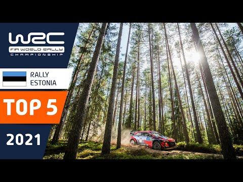 TOP 5 moments - WRC Rally Estonia 2021