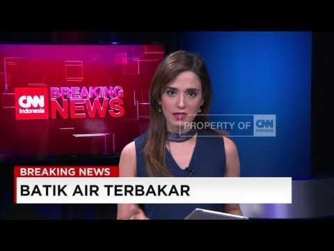 Video Amatir Batik Air terbakar di Bandara Halim Perdana Kusuma ...