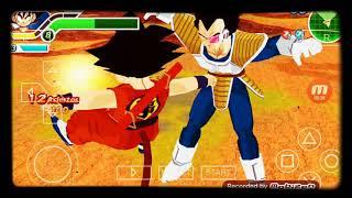 Kid Goku vs vegeta explorador no dragon ballet Tenkaichi tag team