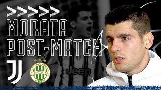 🎙? ALVARO MORATA POST-MATCH INTERVIEW | Juventus 2-1 Ferencvaros | #JuveFerencvaros